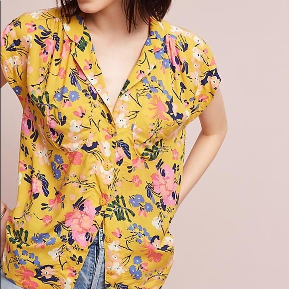 Anthropologie Tops - Anthropologie Raffine Blouse